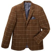 Jacamo Black Label Wool Checked Blazer R