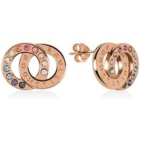 Radley Rose Gold And Silver Earrings.