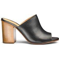 Sole Diva Leather Mule Sandal E Fit