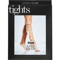 3 Pack Natural Knee Highs 15 Denier