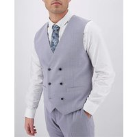 Lilac Harry Double Breasted Waistcoat.