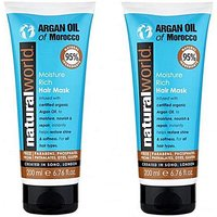 Argan Oil Moisture Hair Mask Twin Pack