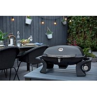 George Foreman Portable Gas Barbeque.