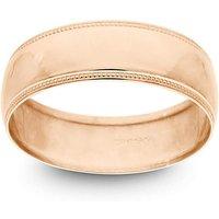 9ct Rose Gold 6mm Wedding Ring
