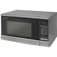 Sharp 800W Silver Microwave