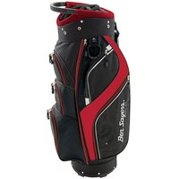Ben Sayers Dlx Cart Bag Black/red