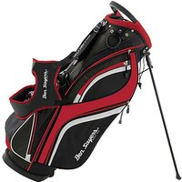 Ben Sayers Dlx Stand Bag Black/red
