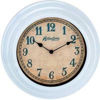 Hometime Light Blue Wall Clock 30cm