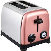 Rose Gold Accent 2 Slice Toaster