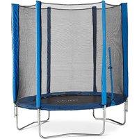 Plum 6ft Blue Trampoline & Enclosure