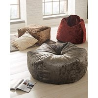 Crushed Velvet Snug Bean Bag