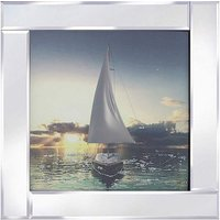 Sail Boat Mirror Wall Art
