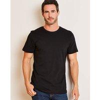 Capsule Crew Neck Black T-shirt Regular