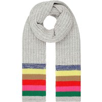 Accessorize Rainbow Stripe Scarf