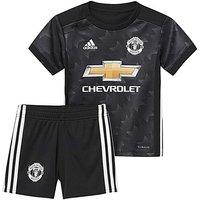 Adidas Infants MUFC Away Mini Kit