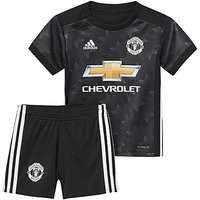 Adidas Infants MUFC Away Mini Kit