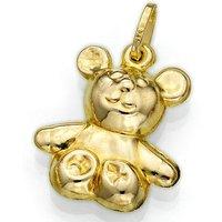 9ct Gold Teddy Bear Charm