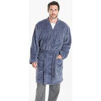 Capsule Blue Fleece Dressing Gown