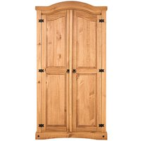 Corona Solid Pine Two Door Wadrobe