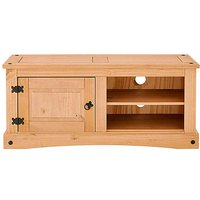 Corona Solid Pine Wide TV Unit