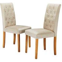 Grace Velvet Pair of Chairs.