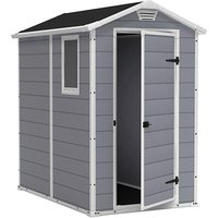 'Keter Manor 4x6 Plastic Shed
