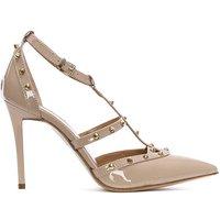 Daniel Tiff Patent Studded Court Shoe