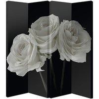 Arthouse 4-panel Roses Screen