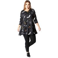 Koko Halloween Print Swing Dress