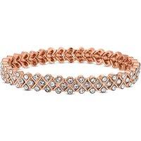 Image of Jon Richard Rose Gold Stretch Bracelet