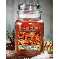 Yankee Cinnamon Stick Large Candle Jar.