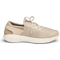 Skechers You Gore Slip On Lace Trainers
