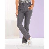 Straight Leg Stretch Jean Short