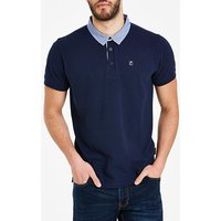 Peter Werth Woven Collar Polo