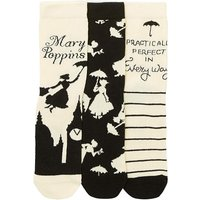 3 Pack Mary Poppins Socks