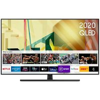 Samsung 55 QLED TV.