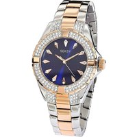 Seksy Ladies Two-Tone Bracelet Watch