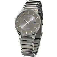 Accurist Gents Slim Grey Bracelet Watch