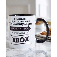 Personalised Look Like Im Listening Mug