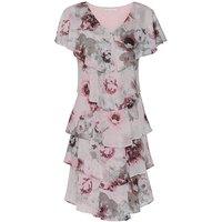 Gina Bacconi Gosia Floral Chiffon Dress