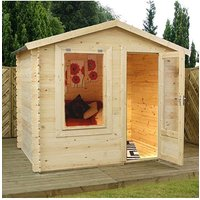 Mercia 2.5 x 2m Log Cabin