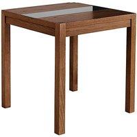 Marisota Oakham Glass Panel Square Dining Table