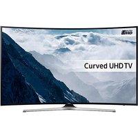 Samsung UE65KU6100 65in 4K Curved TV.