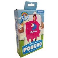Unicorn Sprinkles Poncho