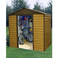 Yardmaster 10x6ft Woodgrain-Effect Shed