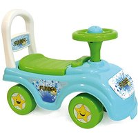 Funbee Ride-On With Push Bar
