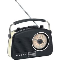 'Baby Brighton Retro Radio Black