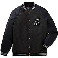 Label J Letterman Jacket Regular