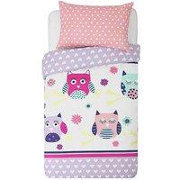 HOME Owls Bedding Set - Toddler.
