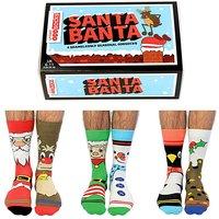 Santa Banta Oddsocks.